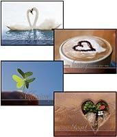 """聖書Greeting cards-kjv-boxed-valentine–"""" Hidden Hearts """""""