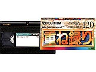 FUJIFILM 録画用VHSビデオカセットテープ 120分 3本 T-120X3 F AG H