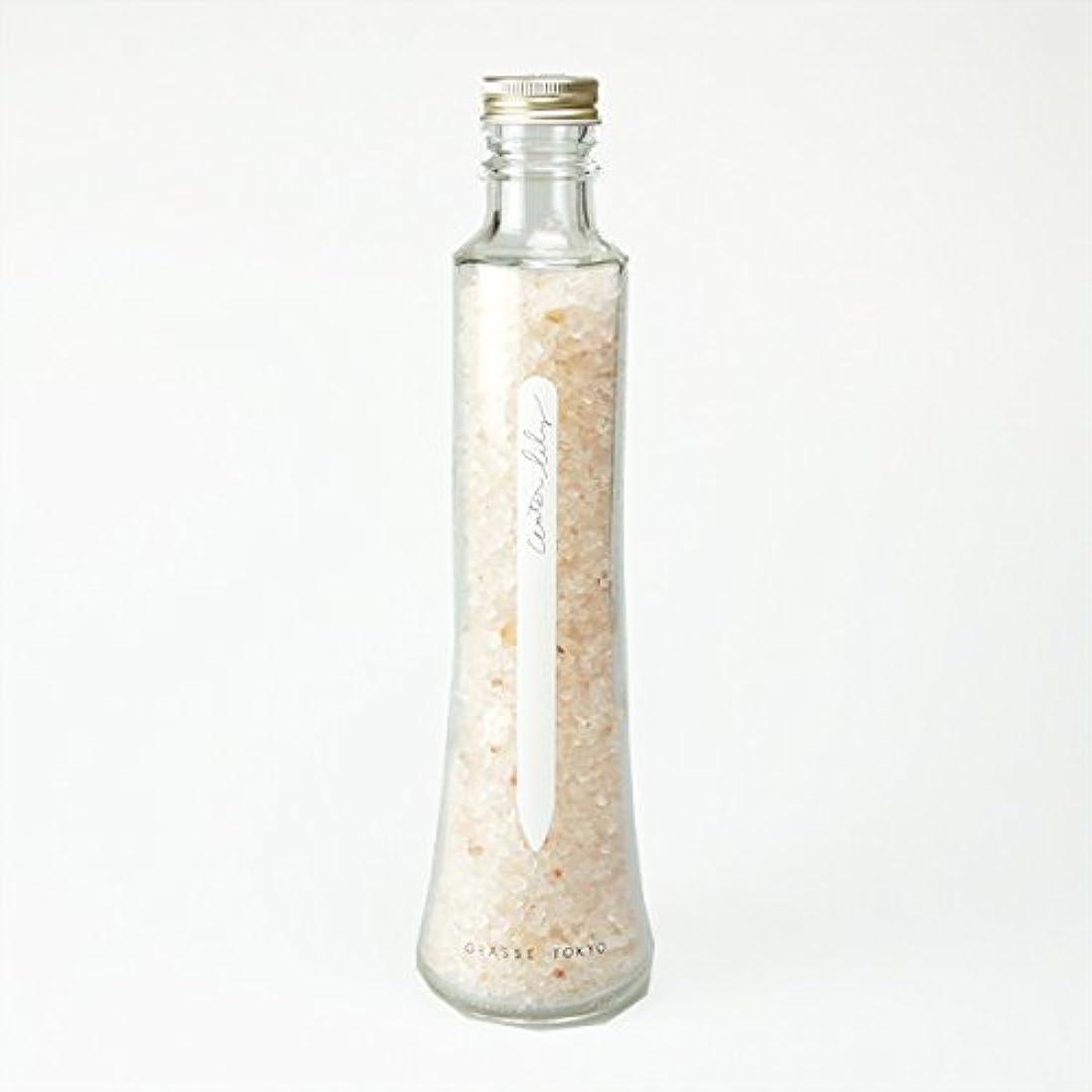 ピグマリオン杖要求グラーストウキョウ フレグランスソルト(浴用、12回分ボトル) Water lily 360g