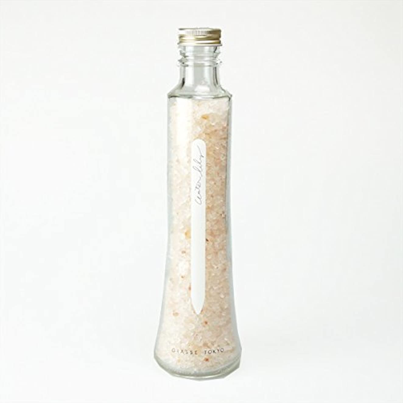 主婦ホバー農業グラーストウキョウ フレグランスソルト(浴用、12回分ボトル) Water lily 360g