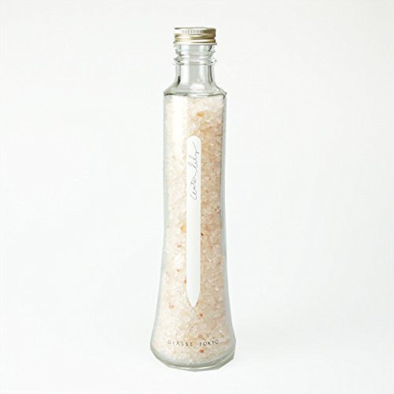 評価する強調結晶グラーストウキョウ フレグランスソルト(浴用、12回分ボトル) Water lily 360g
