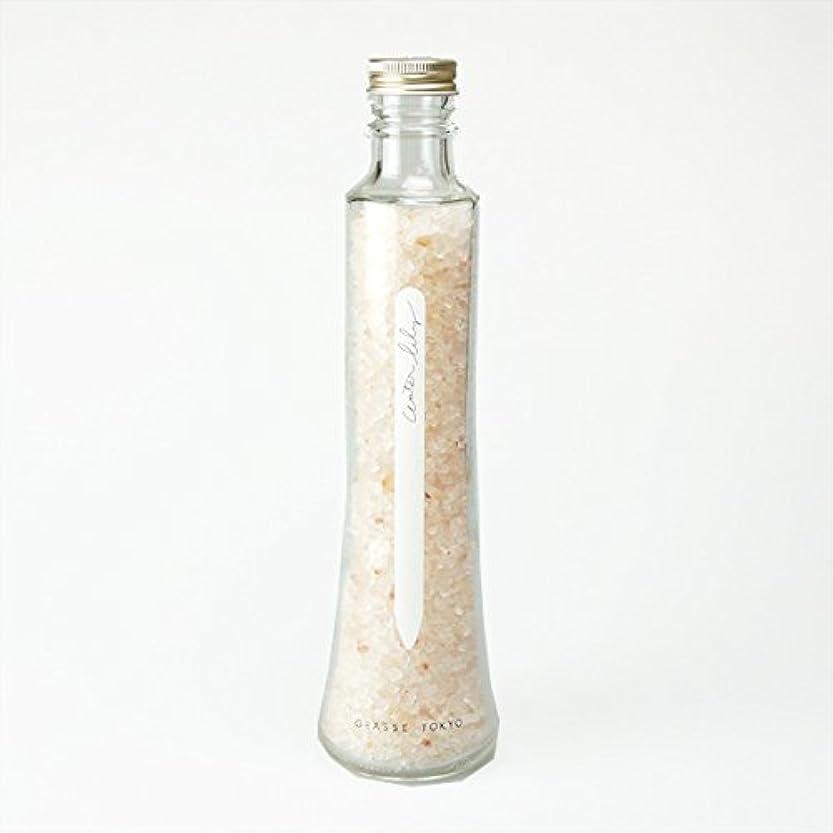 行為本能弾丸グラーストウキョウ フレグランスソルト(浴用、12回分ボトル) Water lily 360g