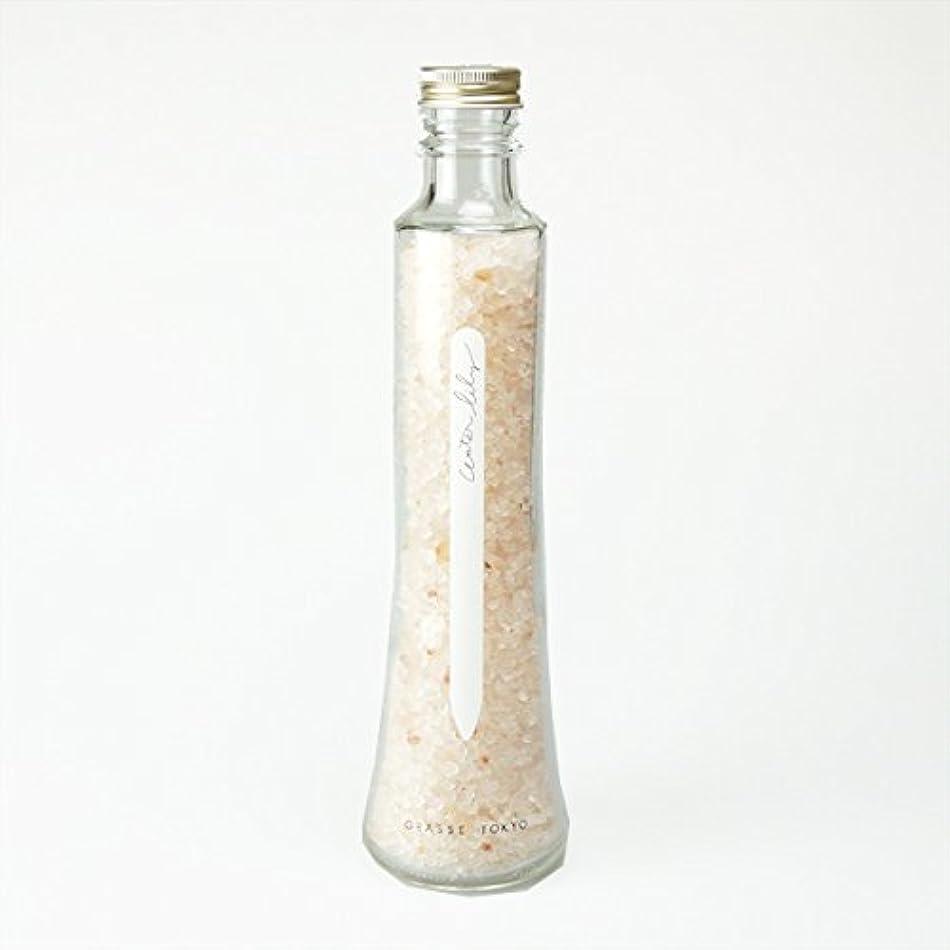 起きている過剰研究所グラーストウキョウ フレグランスソルト(浴用、12回分ボトル) Water lily 360g
