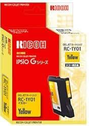 リコー GELJETカートリッジ (Mサイズカートリッジ) イエロー RC-1Y01 509809
