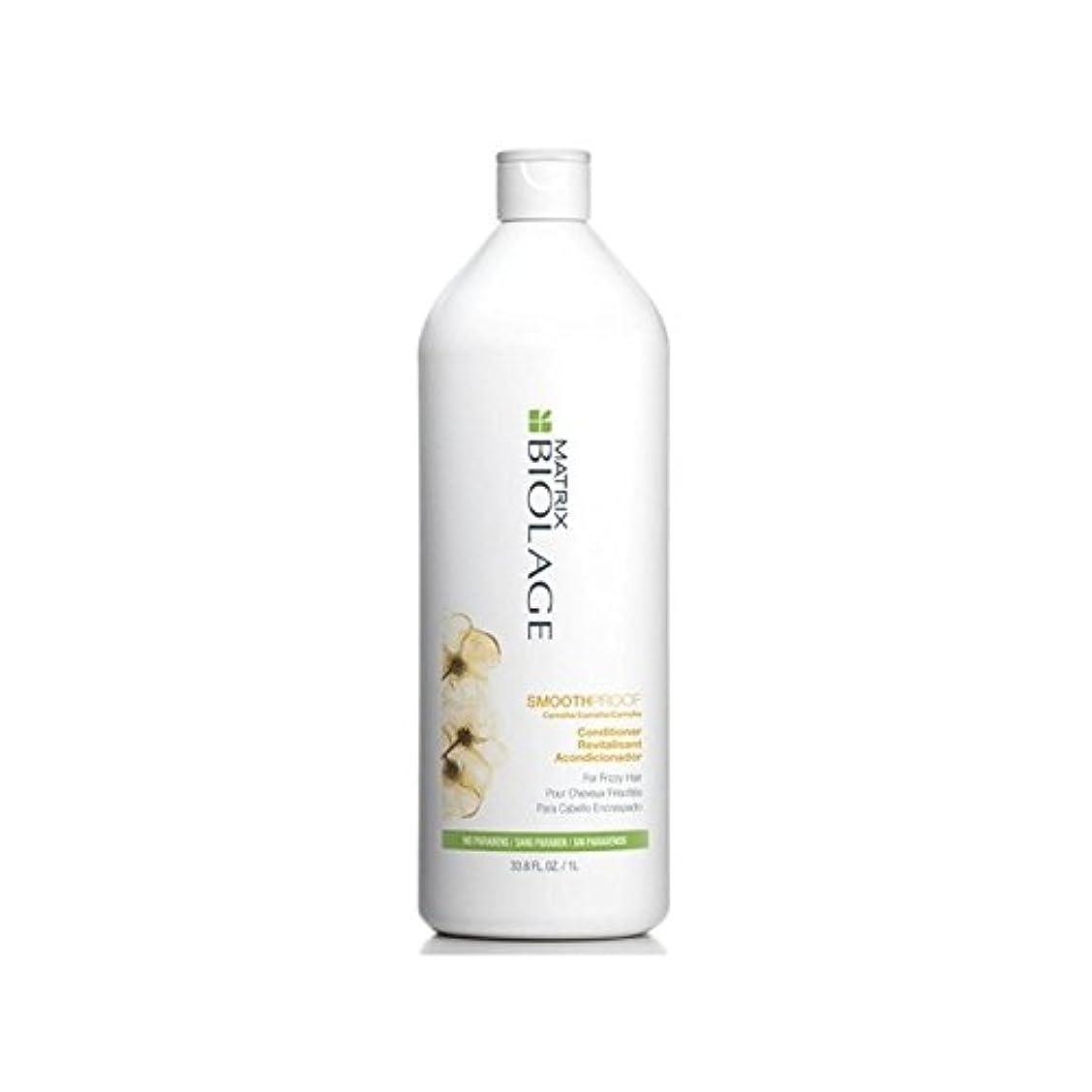 密満足できる日食Matrix Biolage Smoothproof Conditioner (1000ml) (Pack of 6) - マトリックスバイオレイジコンディショナー(千ミリリットル) x6 [並行輸入品]