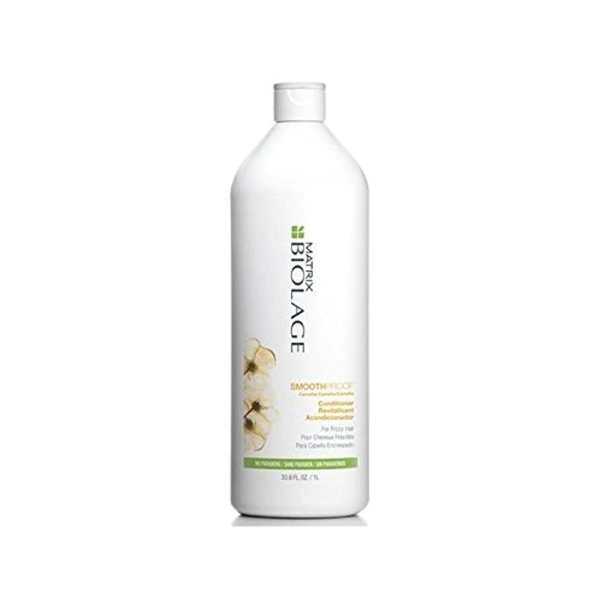 寛大さより体Matrix Biolage Smoothproof Conditioner (1000ml) (Pack of 6) - マトリックスバイオレイジコンディショナー(千ミリリットル) x6 [並行輸入品]