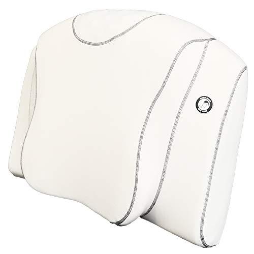 ムーンムーン 安心の日本メーカー YOKONE3 横向き寝 枕 いびき いびき防止 まくら 睡眠時無呼吸症候群 無呼吸 マクラ ストレートネック 快眠 安眠 健康 肩こり マッサージ機能 ヨコネ ( 白 ) moonmoon