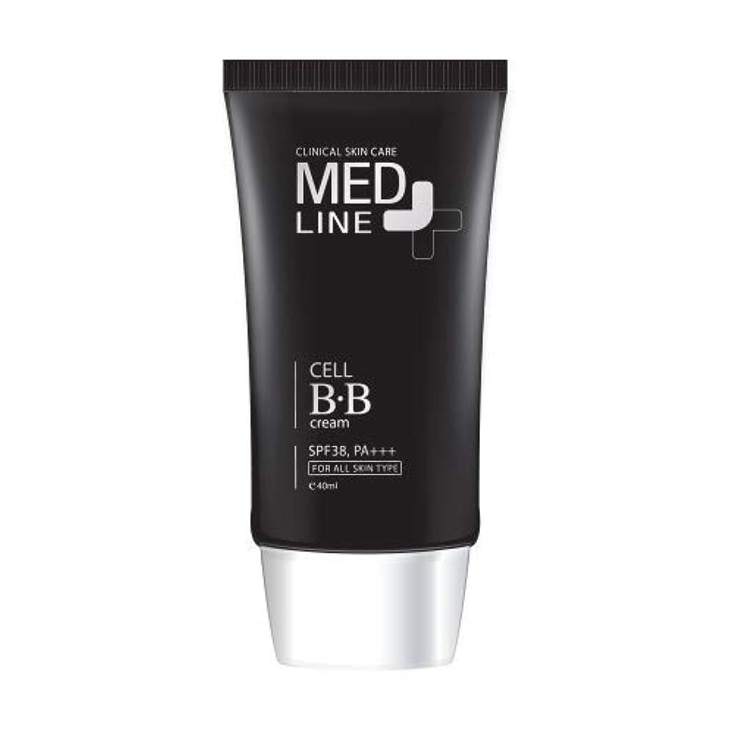 プライバシー反逆者満足できるメドライン(Med Line) セルBBクリーム(Cell B.B Cream)