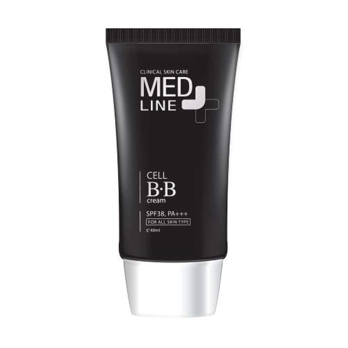 壊滅的なクラックポットペフメドライン(Med Line) セルBBクリーム(Cell B.B Cream)