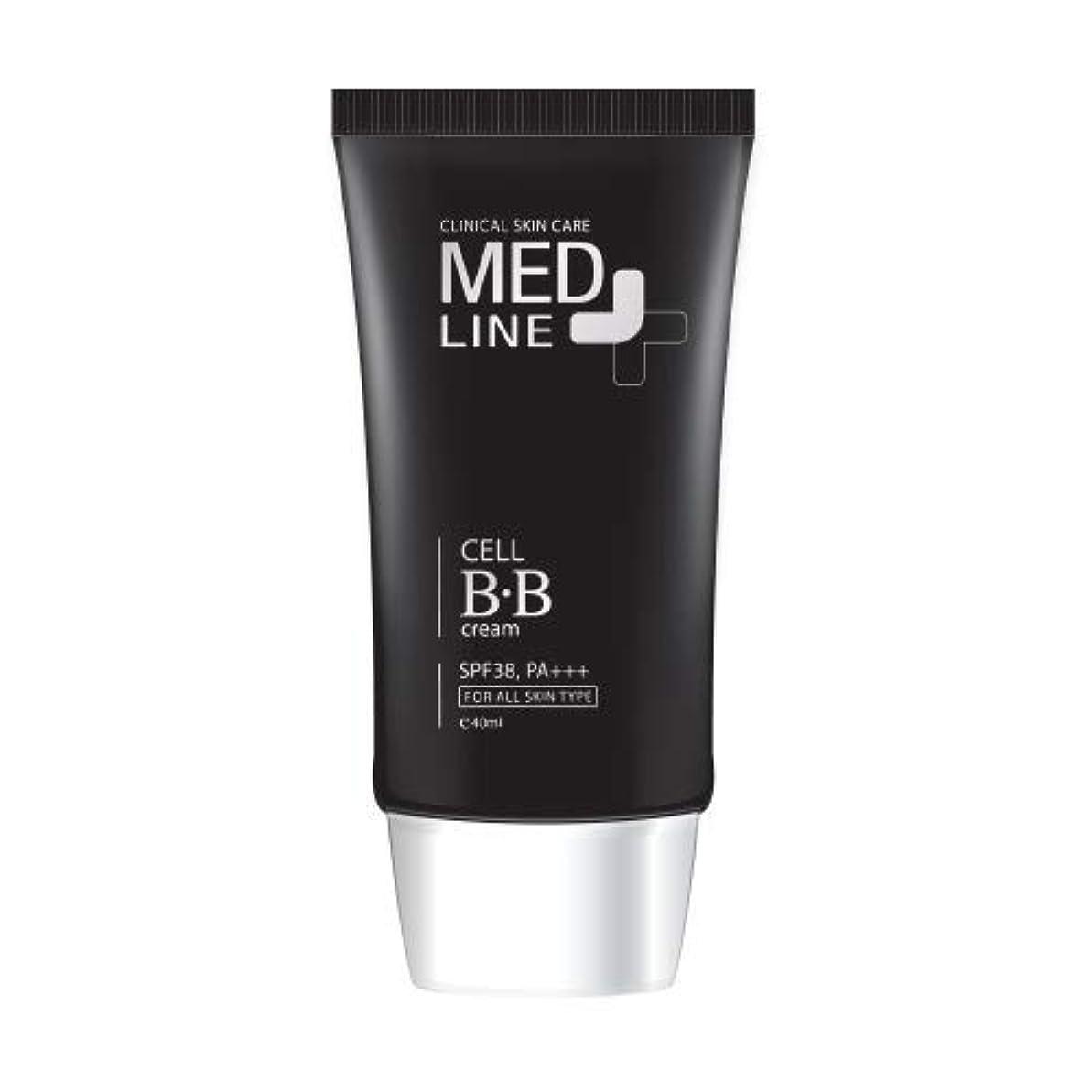 怖がって死ぬ強調郵便メドライン(Med Line) セルBBクリーム(Cell B.B Cream)