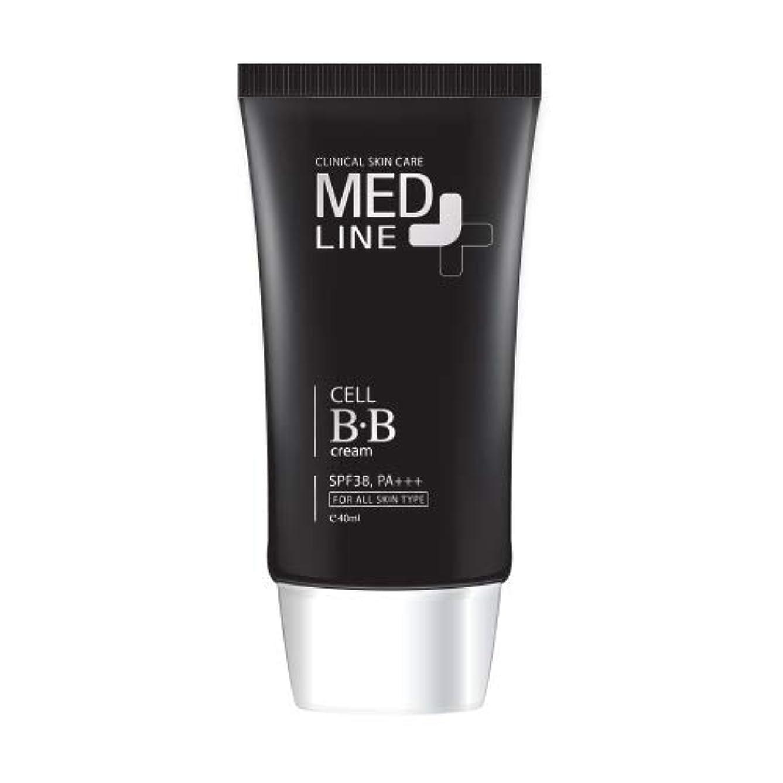 センチメートル四淡いメドライン(Med Line) セルBBクリーム(Cell B.B Cream)