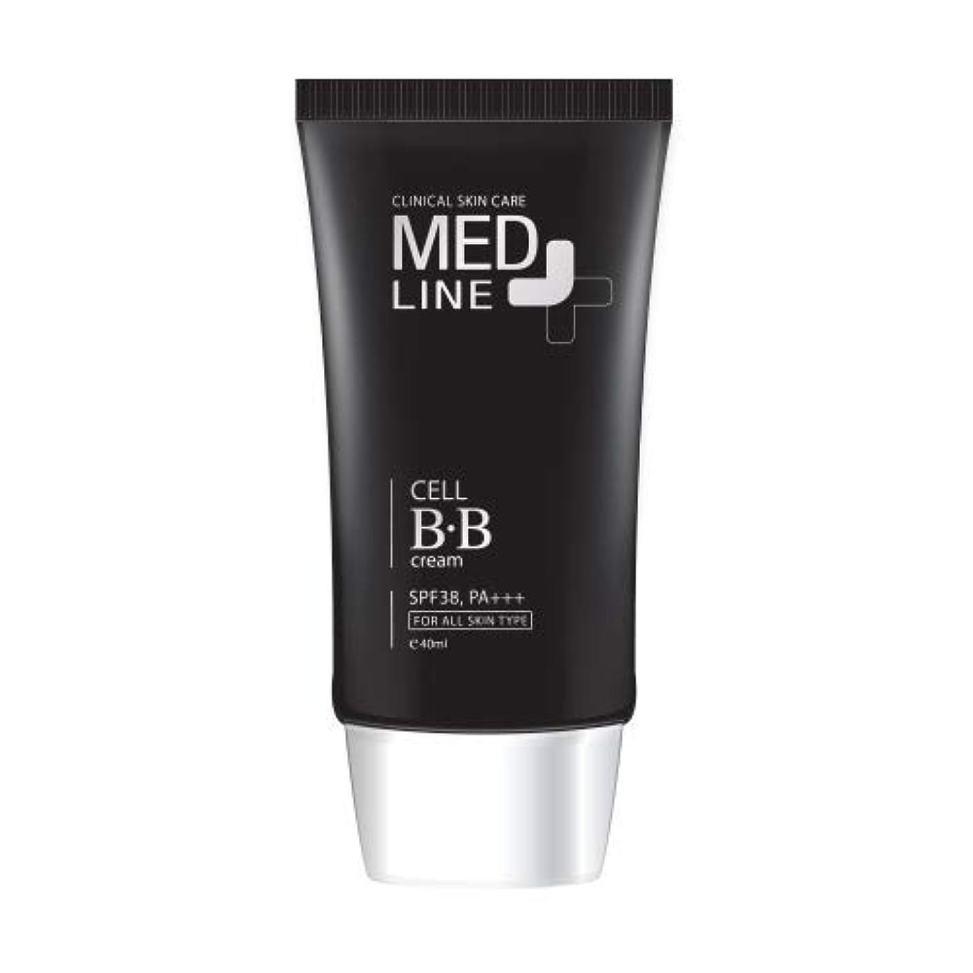 舗装するケーブルカータンクメドライン(Med Line) セルBBクリーム(Cell B.B Cream)