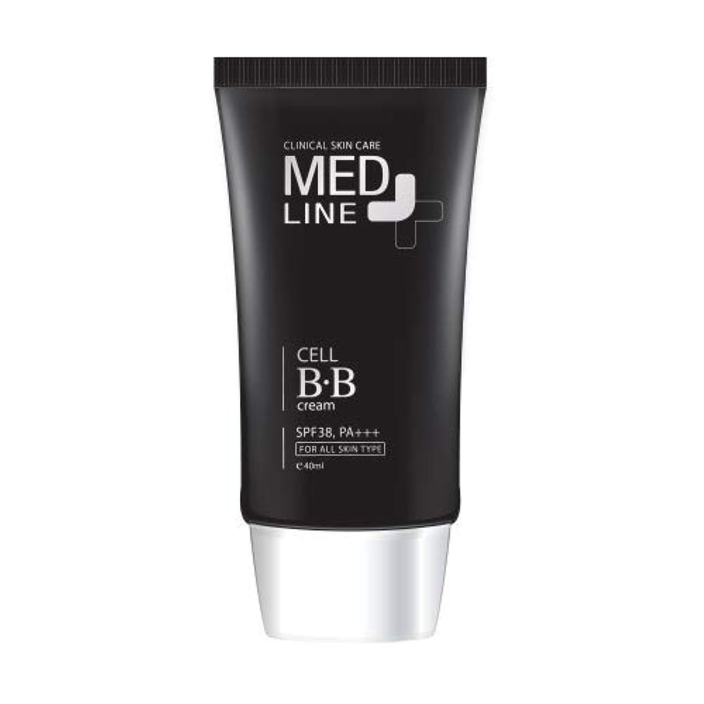 伝統拡声器尊敬するメドライン(Med Line) セルBBクリーム(Cell B.B Cream)