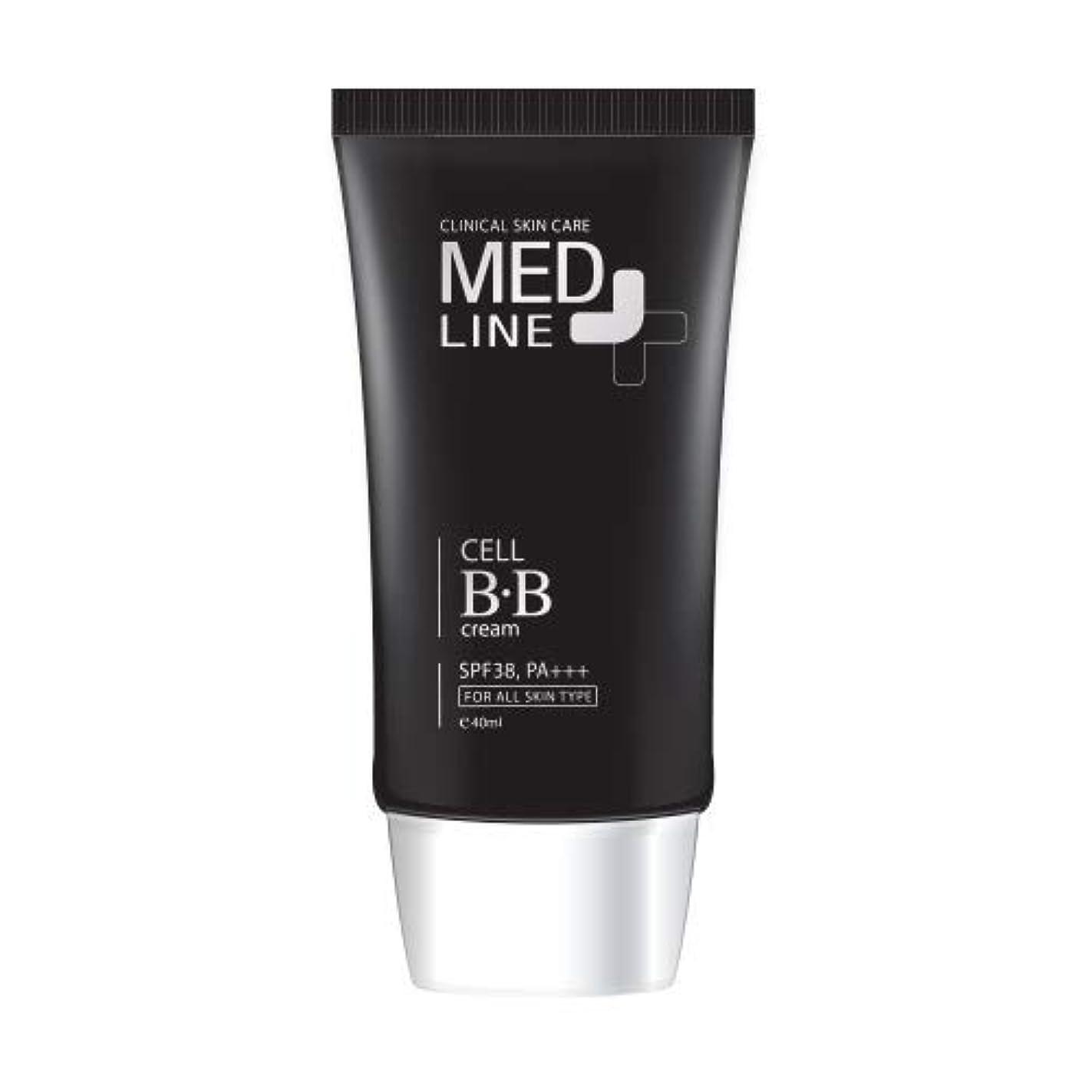 透明に集団リサイクルするメドライン(Med Line) セルBBクリーム(Cell B.B Cream)