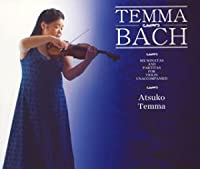 バッハ:無伴奏ヴァイオリンのためのソナタとパルティータBWV・1001~6