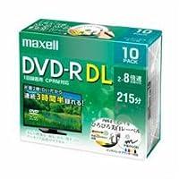 【まとめ 10セット】 maxell DRD215WPE10S 8倍速対応DVD-R DL 215分 10枚パック