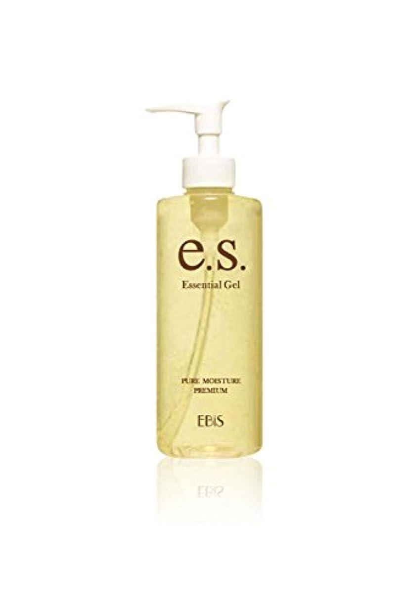 弱点滑る依存エビス化粧品(EBiS) イーエスエッセンシャルジェル (105g) 美顔器ジェル 無添加処方 アルコールフリー 日本製 男女兼用 保湿ジェル