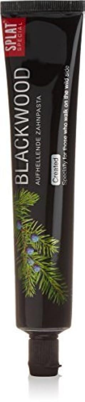 キャンセルベリー人種Splat Blackwood Whitening Toothpaste by Splat
