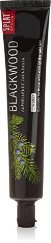 推進検出可能不均一Splat Blackwood Whitening Toothpaste by Splat