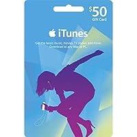 アップル iTunes カード北米版 $50 (iTunes Gift Card US $50) 本体発送版