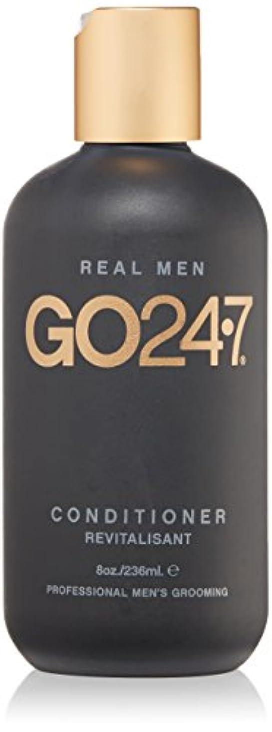 汚す不透明な支配するGO247 Real Men Conditioner, 8 Fluid Ounce by On The Go