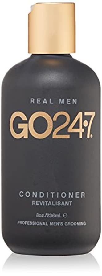 GO247 Real Men Conditioner, 8 Fluid Ounce by On The Go