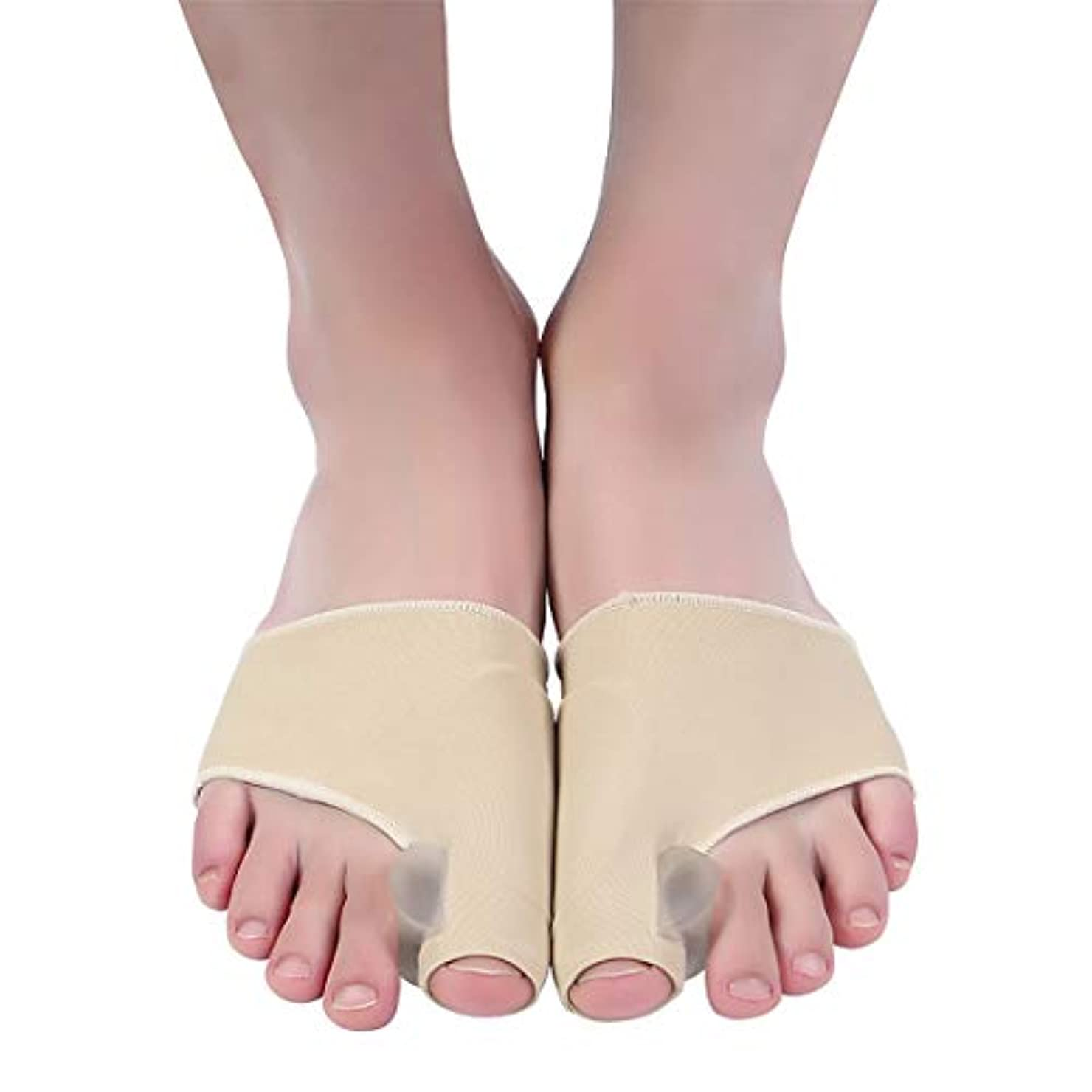 シルク量で別の腱膜瘤矯正と腱膜瘤救済、女性と男性のための整形外科の足の親指矯正、昼夜のサポート、外反母Valの治療と予防