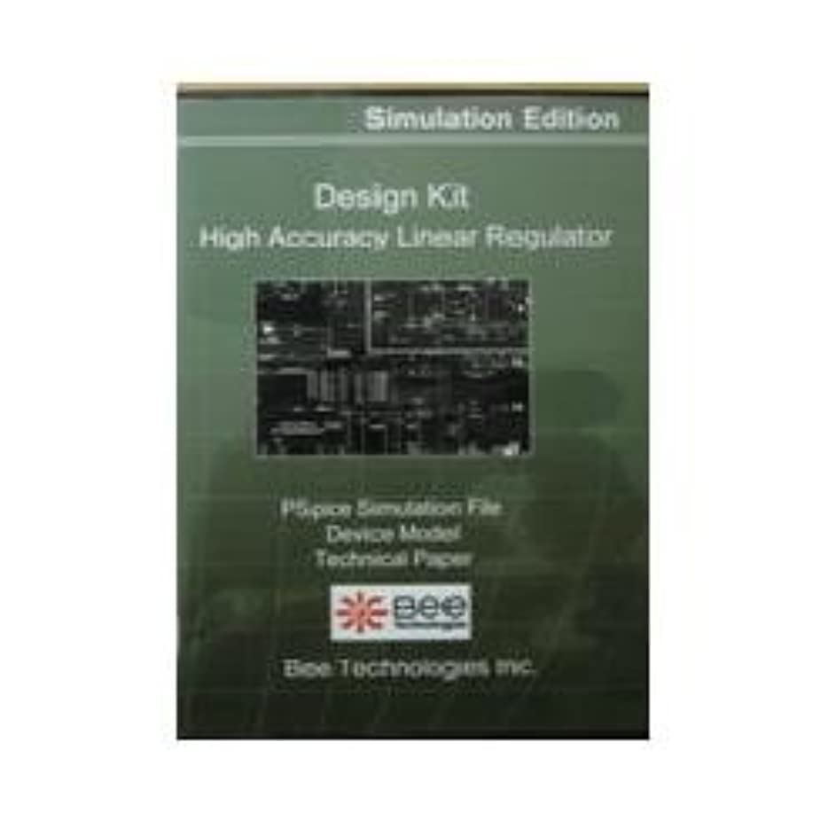 達成する有名アウターBee Technologies SPICE デザインキット 高精度リニアレギュレータ 【Design Kit 004】