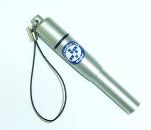 SOS情報が格納できるSOS救急笛 (日本製 メタリックシルバー)