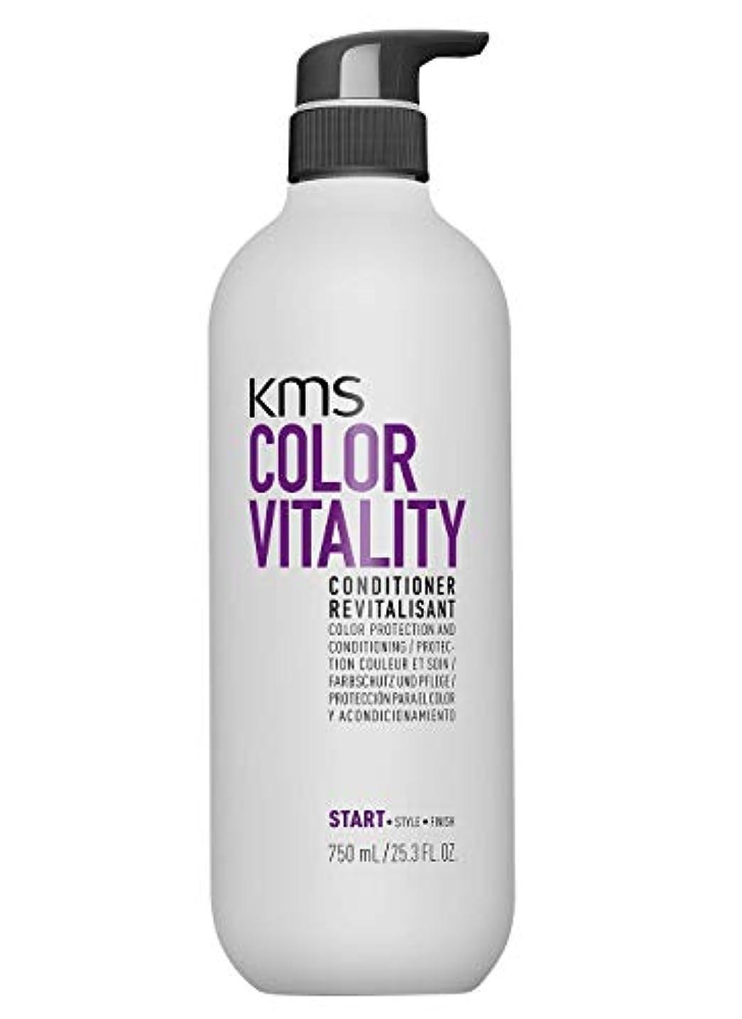 森トリッキー楽観的KMSカリフォルニア Color Vitality Conditioner (Color Protection and Conditioning) 750ml/25.3oz並行輸入品