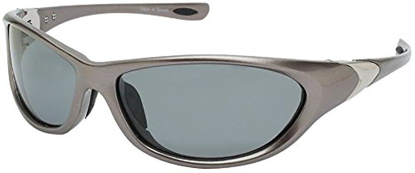 マークダウン座標ふりをするANYCCS(エニックス) サングラス スポーツ 偏光レンズ メタリック シルバー SS04-P1828