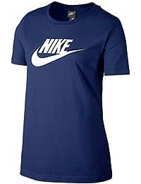 [ナイキ] レディース ロゴ Tシャツ ブルーボイド/ホワイト 846469 478
