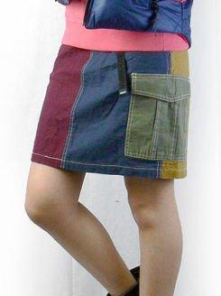 MANASTASH カーゴスカート
