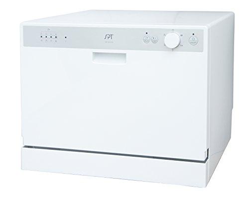 SPT 卓上食器洗浄機 ホワイト SD-2202W [並行輸入]