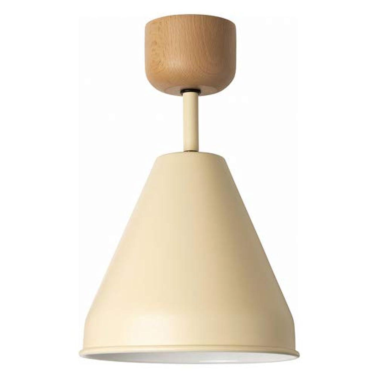 レプリカ豚禁輸カラー&ウッド 1灯 シーリングランプ(電球あり) COLOR&WOOD CEILING LAMP 1BULB 001842 (クリーム)