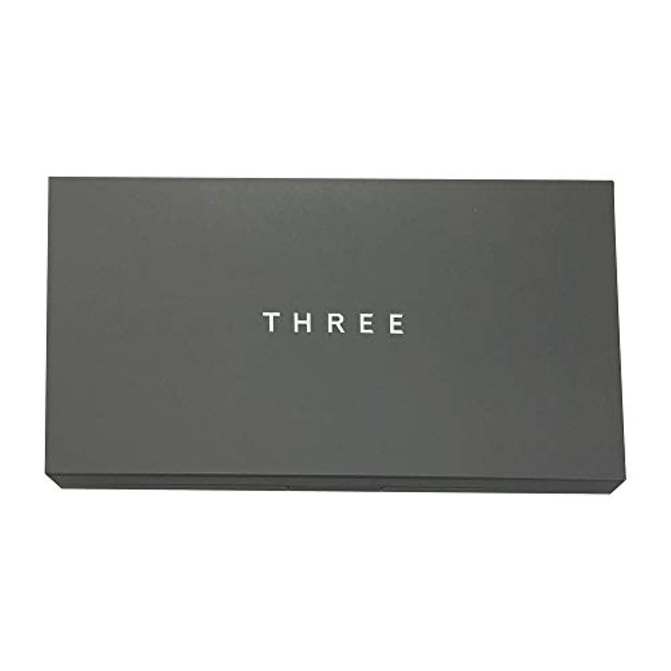 インレイ安定した楕円形THREE(スリー) プリスティーンコンプレクションパウダーファンデーション ケース [ ケース ] [並行輸入品]