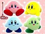 星のカービィ マルチカラーぬいぐるみ 全4種 ピンク イエロー グリーン ブルー