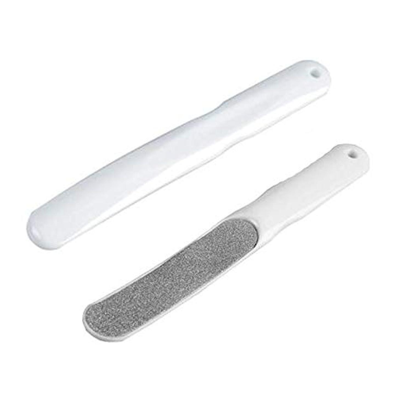 敬意を表するプレゼンターギャップRen He 角質削り 角質除去 フット用品 魚の目 足指 対応 2個