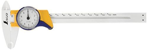 シンワ測定『ファイバーノギス 150mm ダイヤル式(19932)』