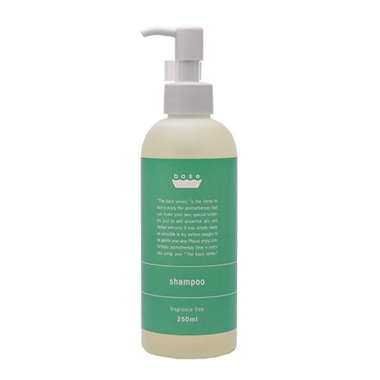 石化するウェイトレス抵抗base shampoo(ベースシャンプー)250ml