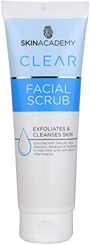 Skin Academy Clear Facial Scrub, 75 milliliters