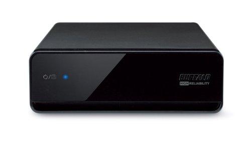 BUFFALO 静音&省エネ テレビ・レコーダー対応モデル 外付けハードディスク 2TB HD-ALS2.0TU2/VJ
