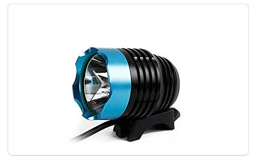 振る舞うカポックロードハウスCraga 無料のテールライト付き自転車用ライトツールなしで数秒で設置可能な自転車用ライト強力な自転車用ヘッドライトの互換性:山、子供、街灯、自転車、フロントおよびリアの照明(稼働時間3時間)高吸湿性長寿命 Professional after sales(売り上げ後の専門家) (Color : Blue)