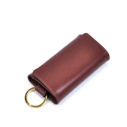 Whitehouse Cox/ホワイトハウスコックス【Antique】S-9692 Key Case With Ring Antique