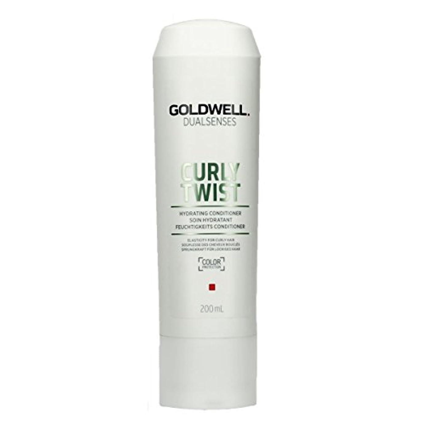 わずかな和氷ゴールドウェル Dual Senses Curly Twist Hydrating Conditioner (Elasticity For Curly Hair) 200ml