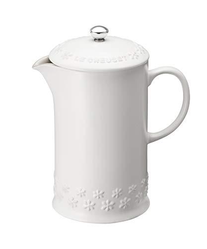 ル・クルーゼ (Le Creuset) コーヒー プレス フラワーレリーフ B07JH91GXD 1枚目