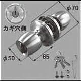 LIXIL部品 ドア・引戸用部品 錠 玄関・店舗・勝手口・テラスドア 把手:握り玉[D1X84] シルバー(D1X84)