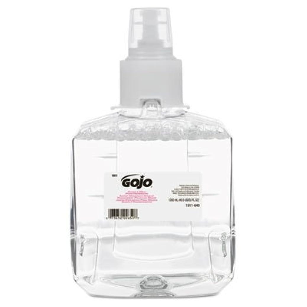 放送ベットホールドgo-jo Industries 191102 CTクリアAmp ; Mild泡手洗いリフィル、抗、1200 ml詰め替え、2 /カートン