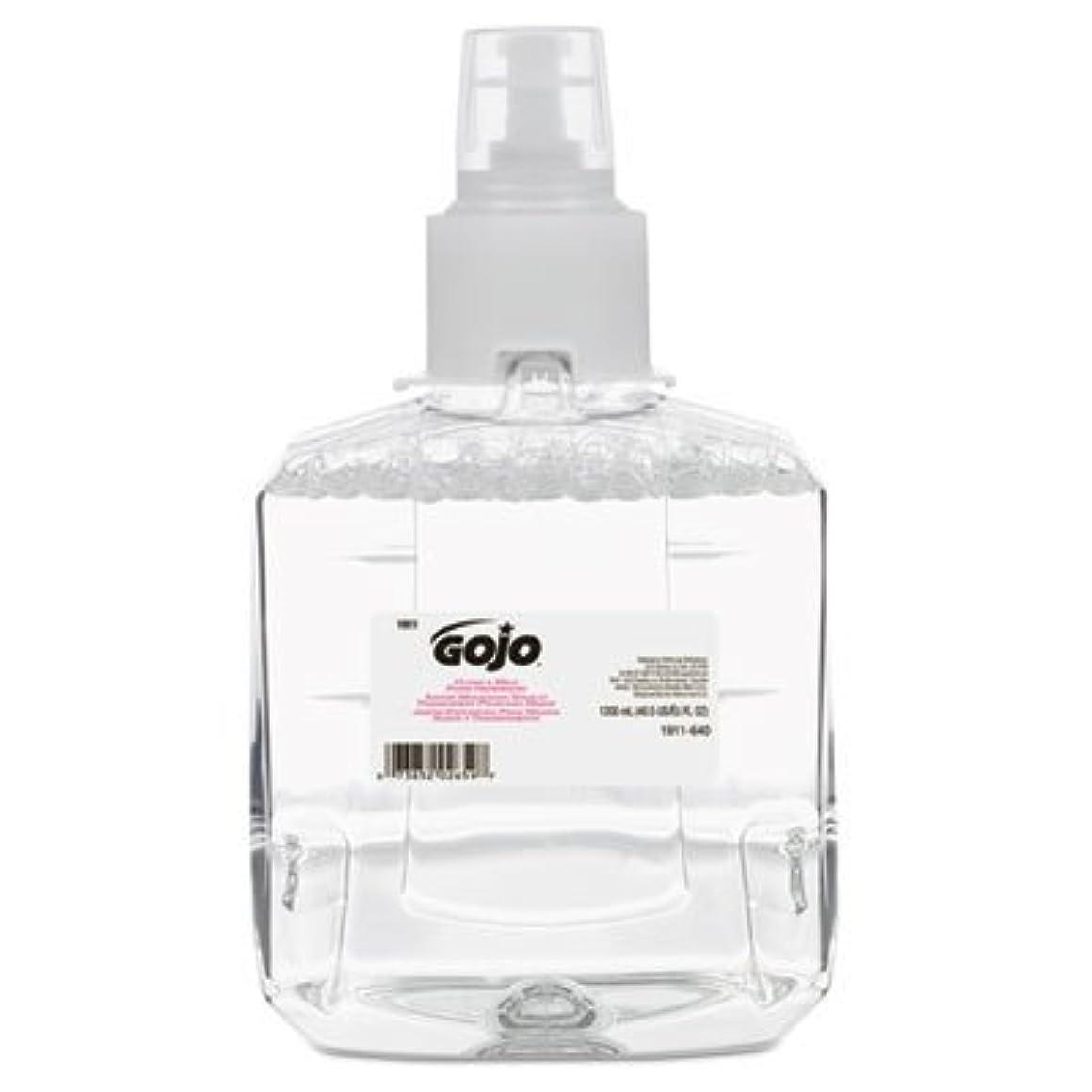 信じるギャザー謝罪するgo-jo Industries 191102 CTクリアAmp ; Mild泡手洗いリフィル、抗、1200 ml詰め替え、2 /カートン