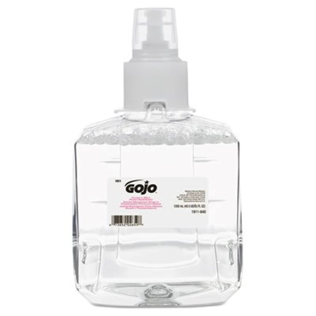 公爵夫人害虫発音するgo-jo Industries 191102 CTクリアAmp ; Mild泡手洗いリフィル、抗、1200 ml詰め替え、2 /カートン